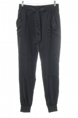Abercrombie & Fitch Stoffhose schwarz Casual-Look