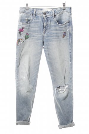 Abercrombie & Fitch Straight-Leg Jeans dunkelblau Casual-Look