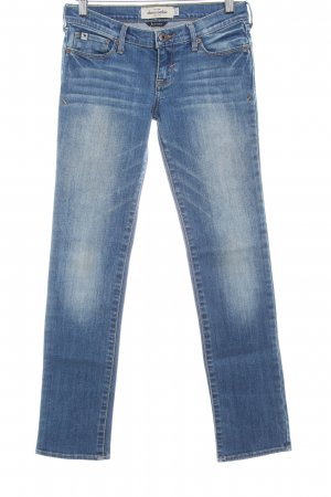 Abercrombie & Fitch Straight-Leg Jeans graublau Casual-Look