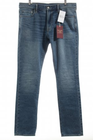 Abercrombie & Fitch Straight-Leg Jeans stahlblau Casual-Look
