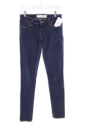 Abercrombie & Fitch Stretch Jeans dark blue simple style