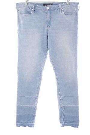Abercrombie & Fitch Stretch Jeans himmelblau-kornblumenblau Casual-Look