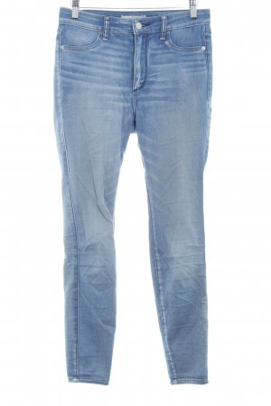 Abercrombie & Fitch Stretch Jeans kornblumenblau Jeans-Optik