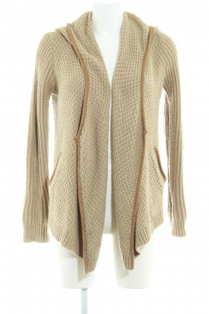 Abercrombie & Fitch Strick Cardigan sandbraun-beige Casual-Look