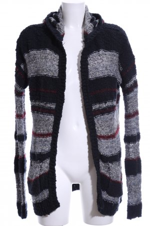Abercrombie & Fitch Knitted Cardigan striped pattern casual look
