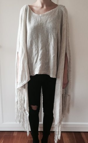 Abercrombie & Fitch Knitted Poncho multicolored