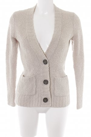 Abercrombie & Fitch Strickjacke hellbeige Casual-Look
