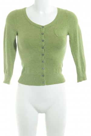 Abercrombie & Fitch Cardigan meadow green simple style