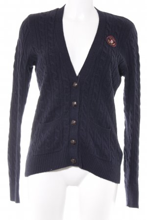 Abercrombie & Fitch Strickjacke Zopfmuster Casual-Look