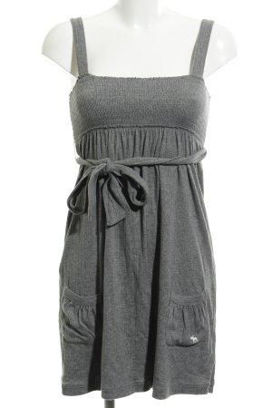 Abercrombie & Fitch Strickkleid grau schlichter Stil