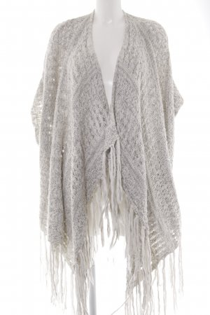 Abercrombie & Fitch Strickponcho Farbverlauf Casual-Look