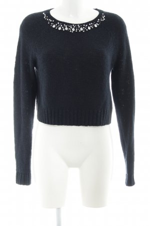 Abercrombie & Fitch Strickpullover dunkelblau Casual-Look