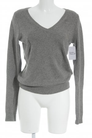 Abercrombie & Fitch Strickpullover grau Casual-Look