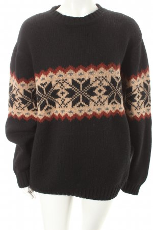 Abercrombie & Fitch Strickpullover mehrfarbig Casual-Look