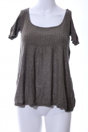 Abercrombie & Fitch Knitted Jumper light grey casual look