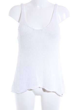 Abercrombie & Fitch Knitted Jumper natural white casual look