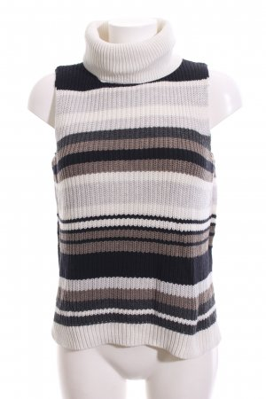 Abercrombie & Fitch Top lavorato a maglia motivo a righe stile casual
