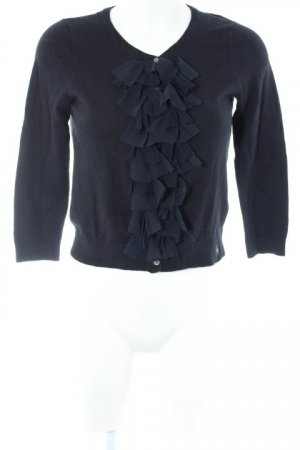 Abercrombie & Fitch Strickweste dunkelblau Casual-Look