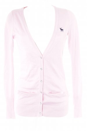 Abercrombie & Fitch Strickweste rosa Casual-Look