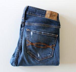 Abercrombie & Fitch Super Skinny Jeans * destroyed * 25 * 0 * selten getragen