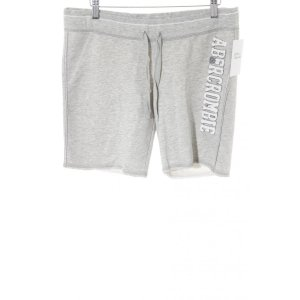 Abercrombie & Fitch Sweat Pants light grey athletic style