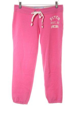 Abercrombie & Fitch Joggingbroek roze atletische stijl