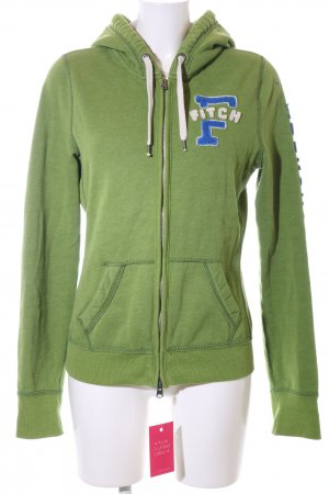 Abercrombie & Fitch Sweat Jacket embroidered lettering casual look