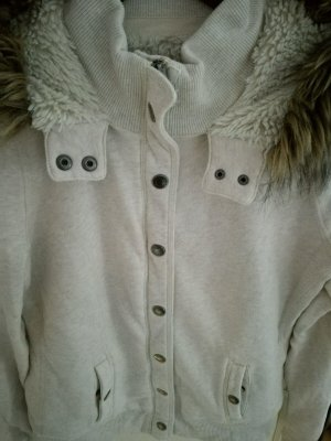 Abercrombie & Fitch Sweatjacke Gr.M/L TOP! Fell Teddyfell Fake Fur Luxus USA