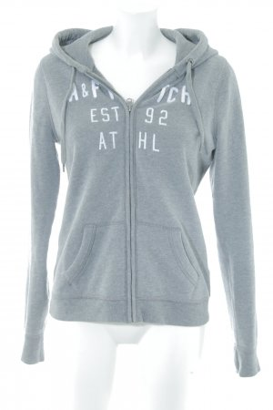 Abercrombie & Fitch Giacca fitness grigio stile casual
