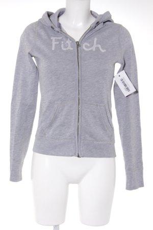Abercrombie & Fitch Giacca fitness grigio chiaro stile casual