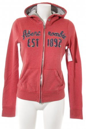 Abercrombie & Fitch Sweat Jacket multicolored athletic style