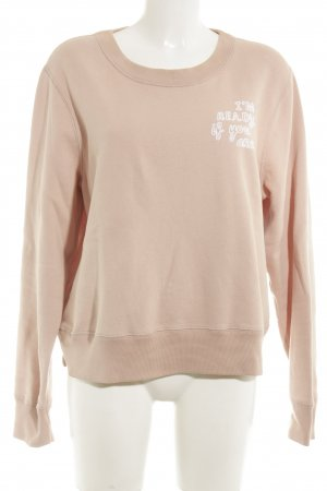 Abercrombie & Fitch Sweatshirt altrosa Casual-Look