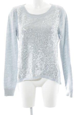 Abercrombie & Fitch Sweatshirt blassblau meliert Casual-Look