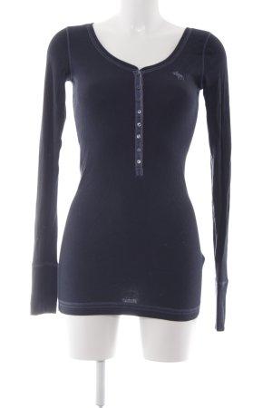 Abercrombie & Fitch Sweatshirt dunkelblau Casual-Look