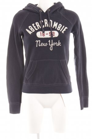 Abercrombie & Fitch Sweat Shirt dark blue casual look