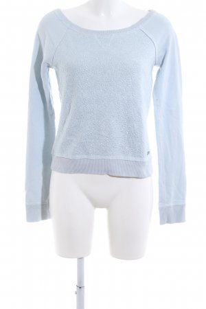 Abercrombie & Fitch Sweatshirt blau Allover-Druck Casual-Look