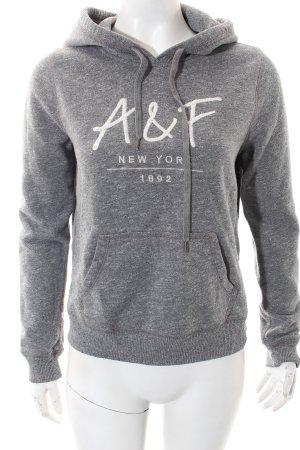 Abercrombie & Fitch Sweatshirt grau Casual-Look