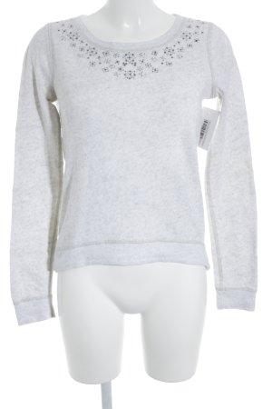 Abercrombie & Fitch Sweatshirt hellbeige meliert Casual-Look