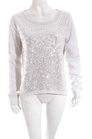Abercrombie & Fitch Sweatshirt hellgrau Casual-Look