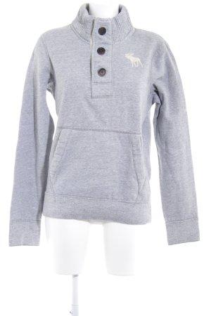 Abercrombie & Fitch Sweatshirt hellgrau-creme Casual-Look