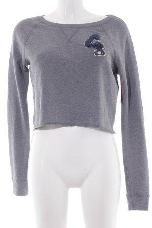 Abercrombie & Fitch Sweatshirt mehrfarbig schlichter Stil