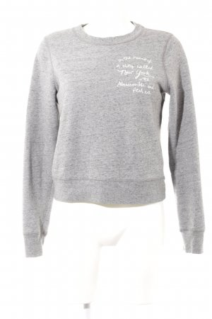 Abercrombie & Fitch Sweat Shirt flecked casual look