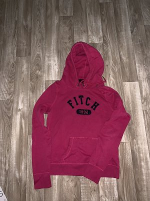 Abercrombie & Fitch Hooded Sweatshirt magenta