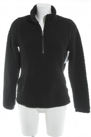 Abercrombie & Fitch Sweatshirt schwarz Casual-Look
