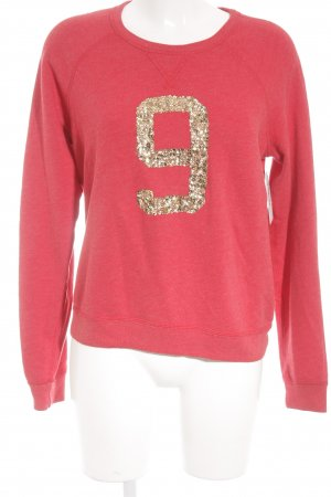 Abercrombie & Fitch Sweatshirt ziegelrot Casual-Look
