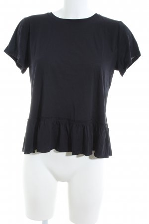 Abercrombie & Fitch T-Shirt schwarz Casual-Look