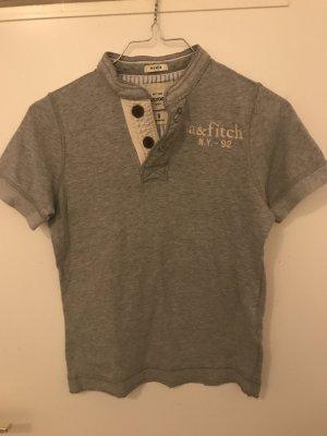 Abercrombie & Fitch T-shirt bianco-grigio
