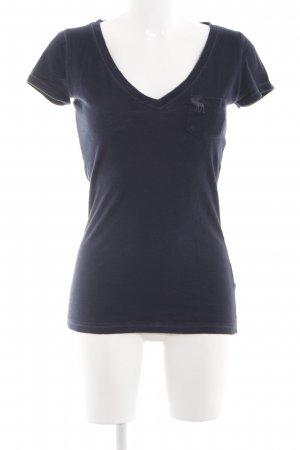 Abercrombie & Fitch T-shirt blu stile casual