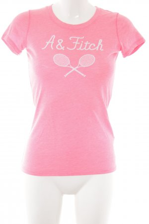 Abercrombie & Fitch T-Shirt pink graphic pattern casual look