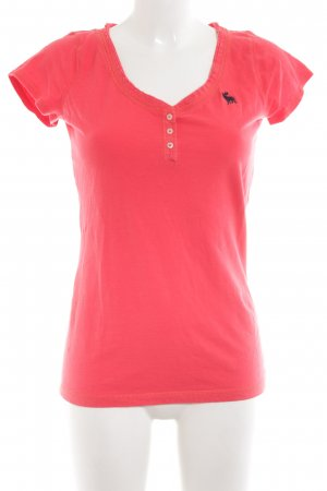 Abercrombie & Fitch T-Shirt pink Casual-Look